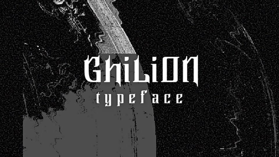 ghilion font