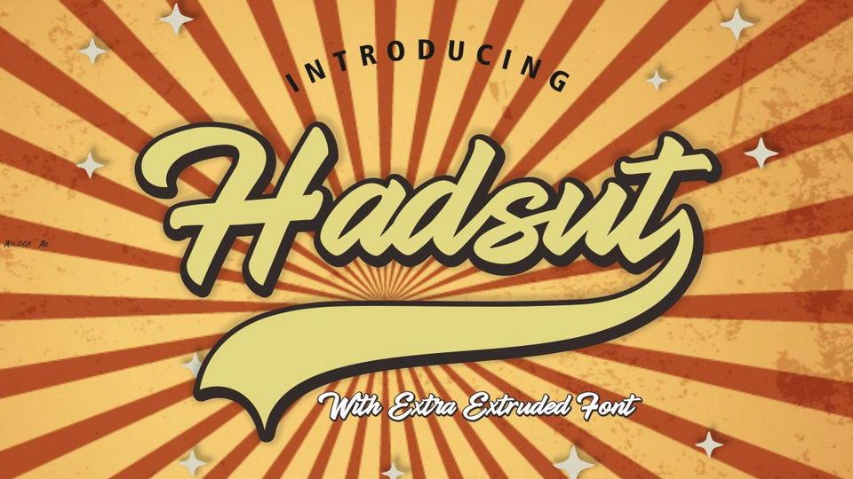 handsut font