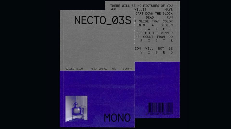 necto mono free font
