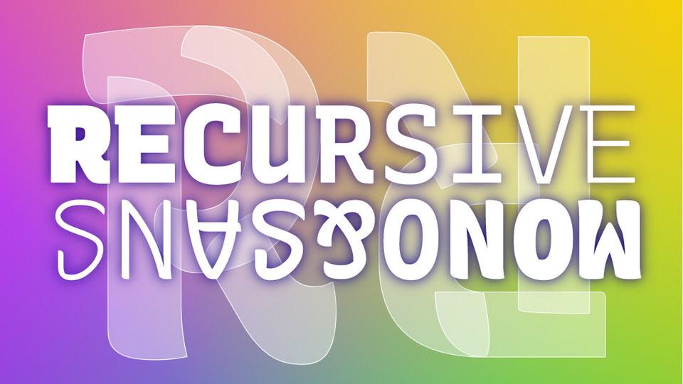 recursive_sans_mono
