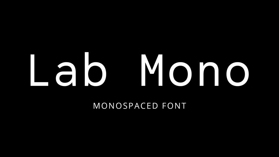 Free Monospaced Fonts › Fontesk