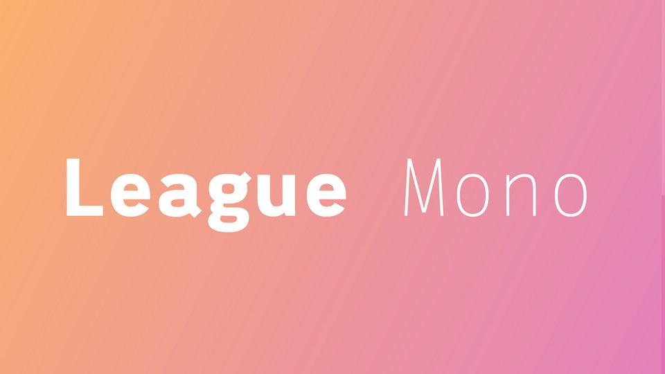 league_mono