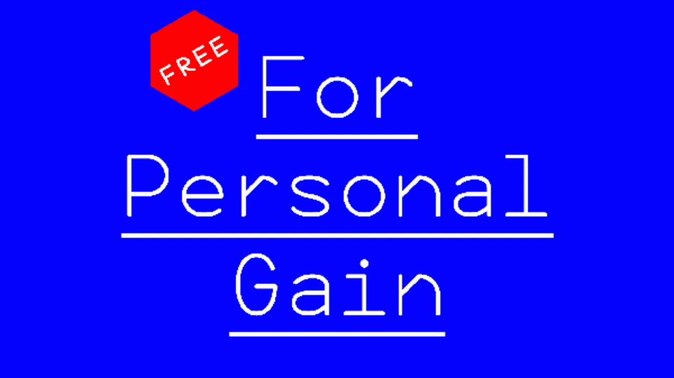 for_personal_gain