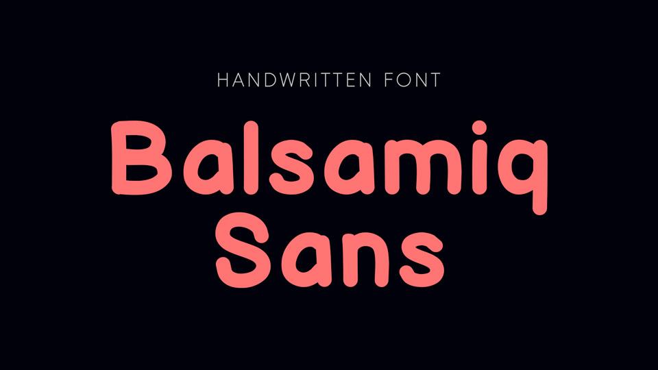balsamiq_sans