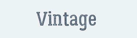 vintage_font