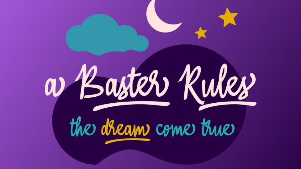 baster rules font