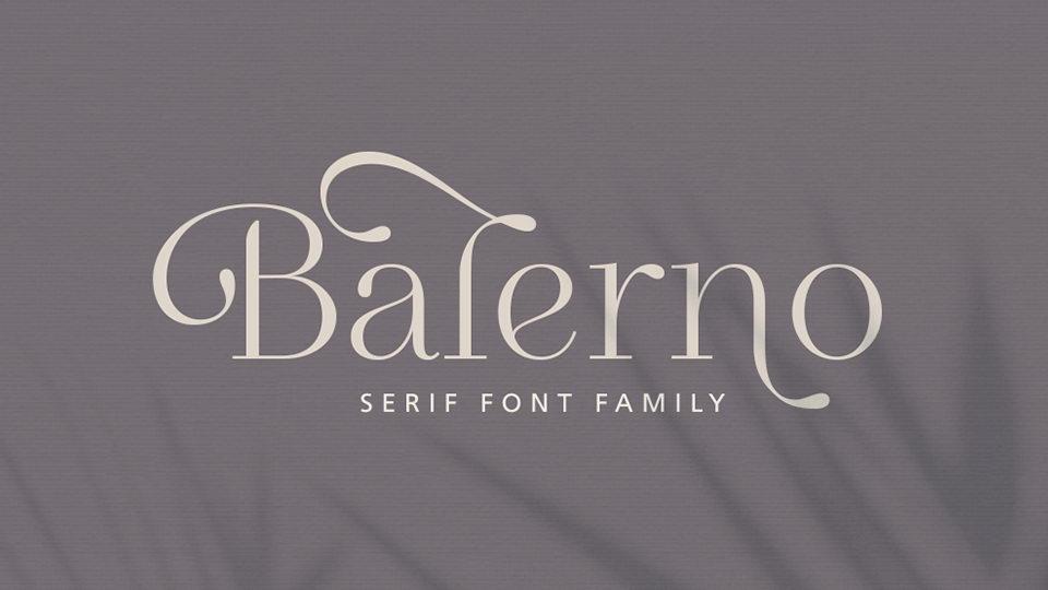 balerno font