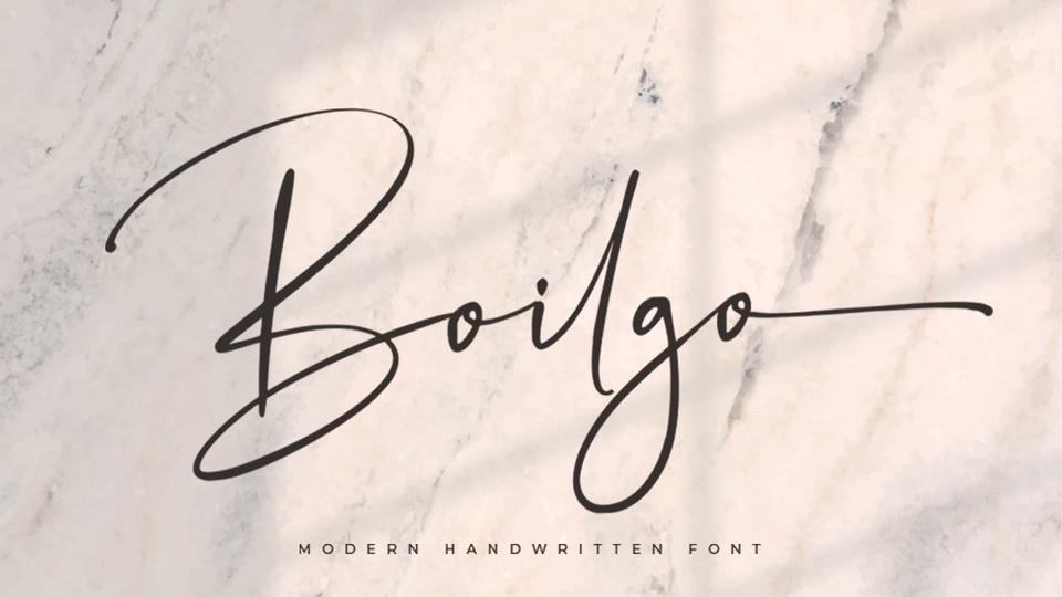 boligo font