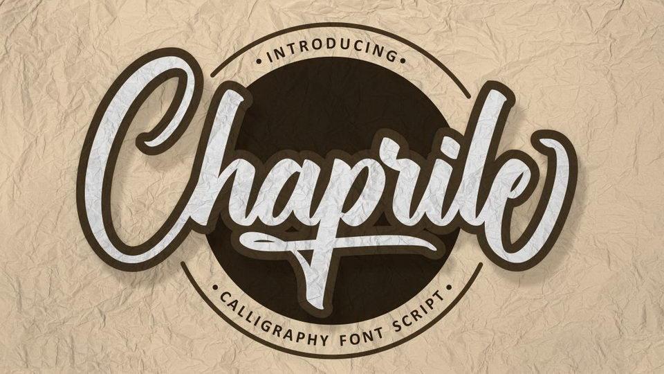 chaprile handwritten
