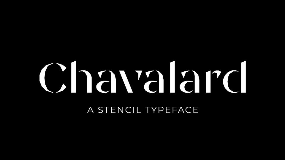 chavalard font