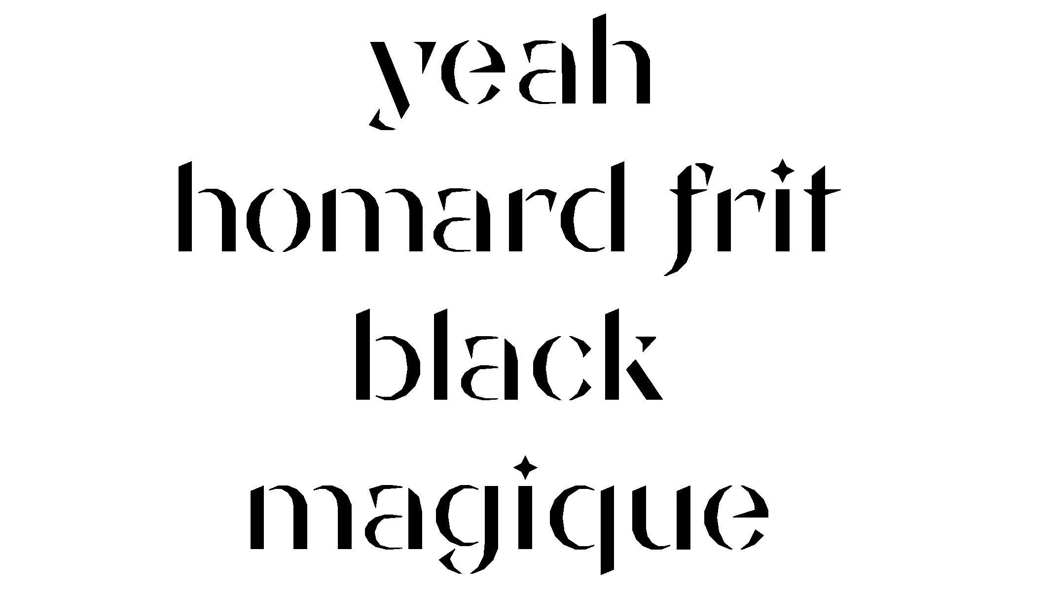 chavalard typeface