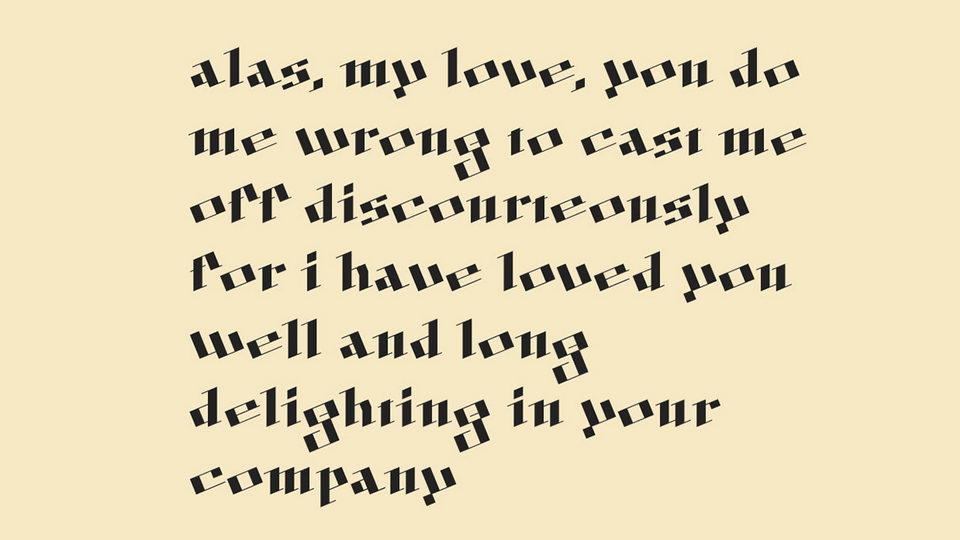 digiskel typeface