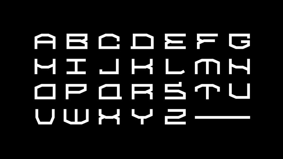 ebenya typeface