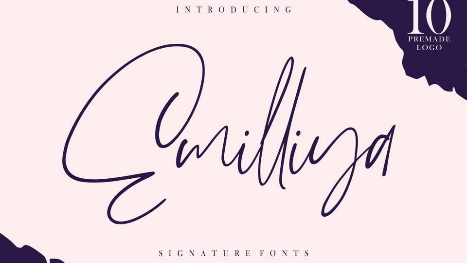 emilliya font