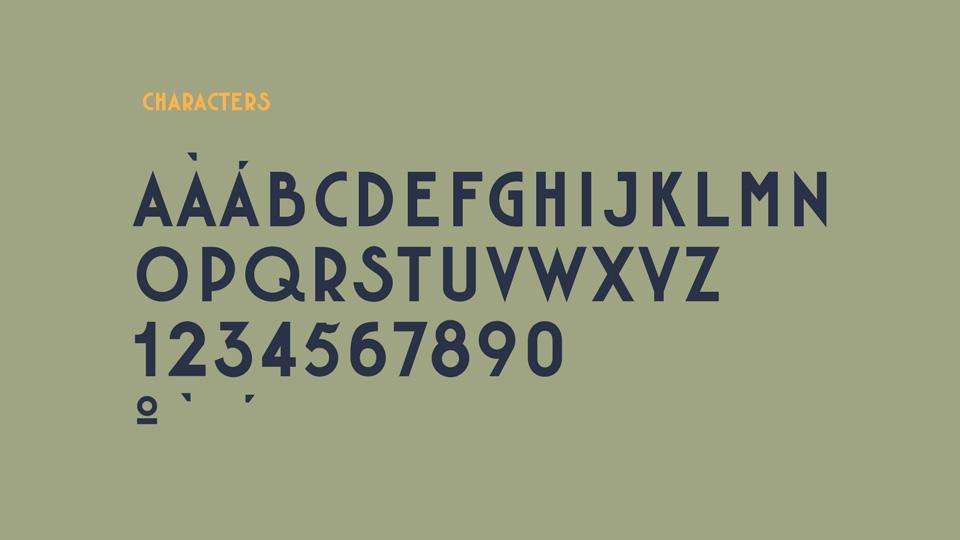 fachada typeface