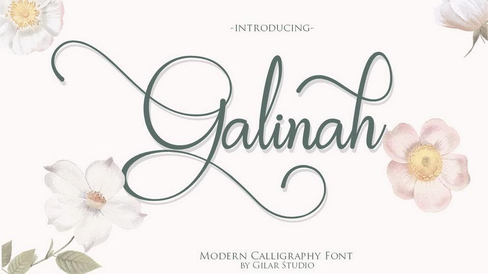 galinah font