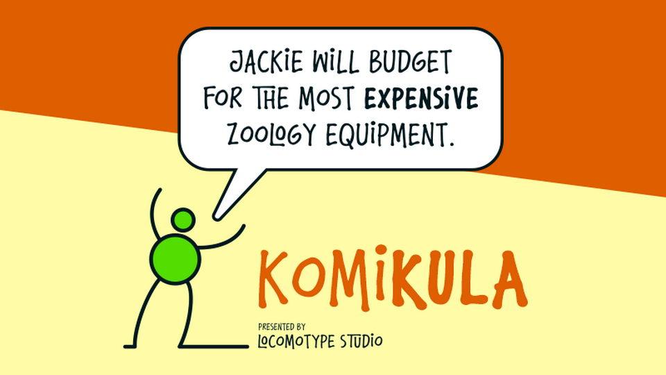 komikula font