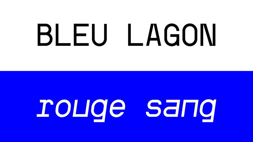 kraft mono typeface