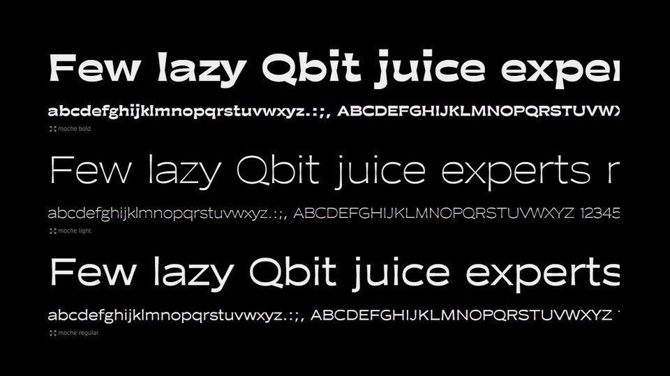 moche font