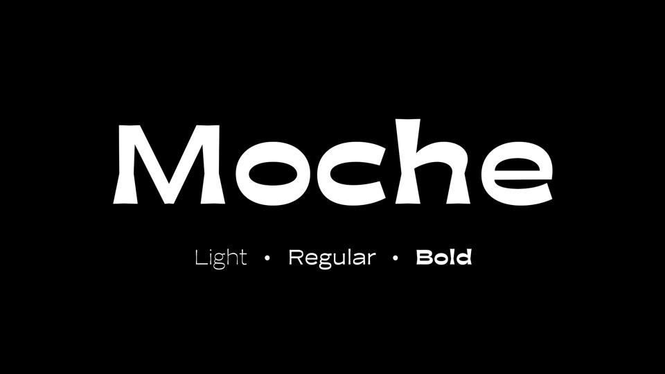 moche font family