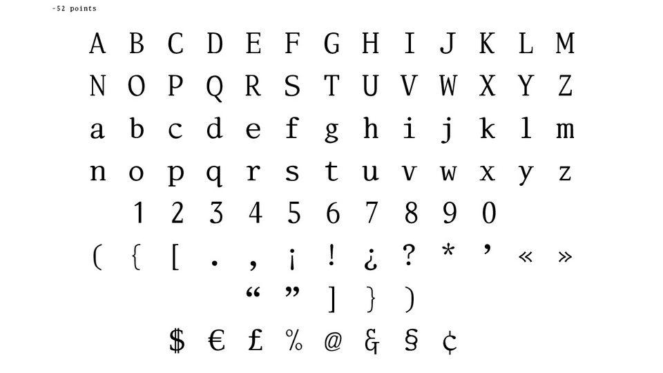 selectric font