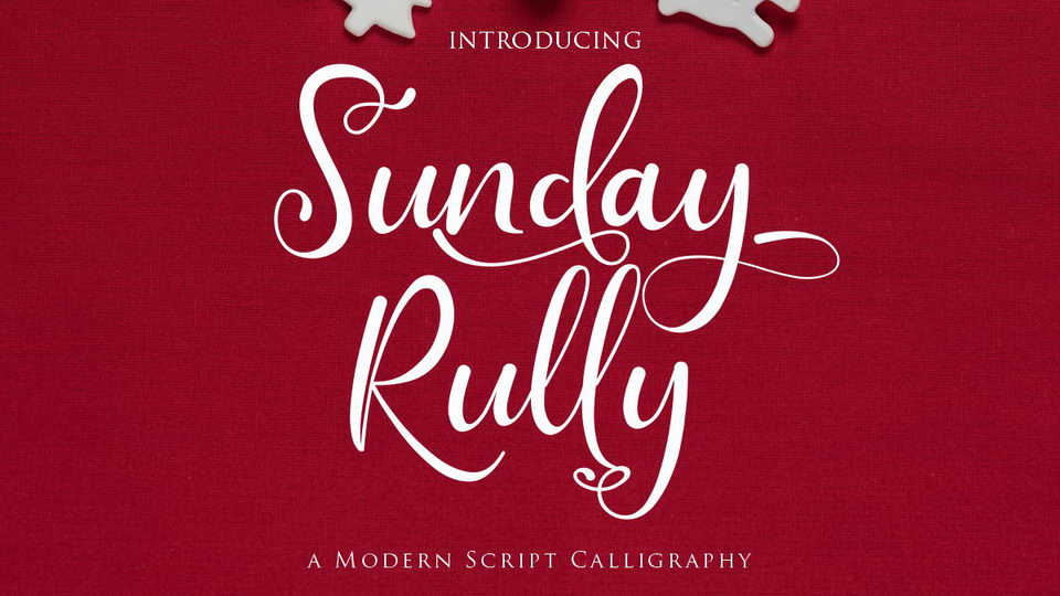 sunday rully typeface