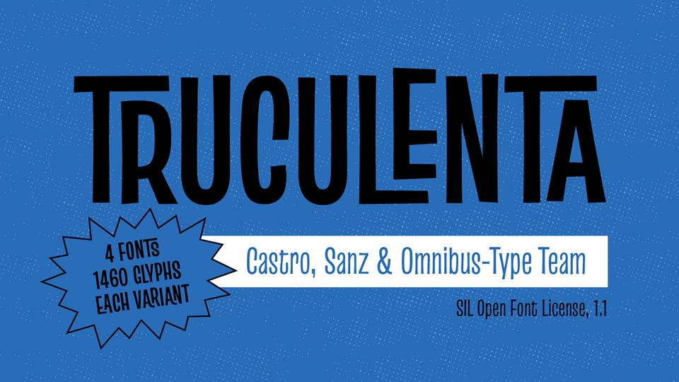 truculenta typeface