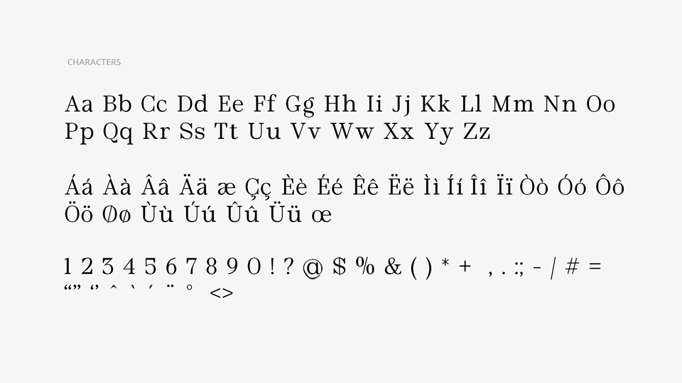 vega typeface