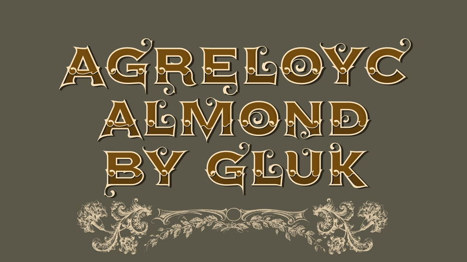 agreloyc typeface