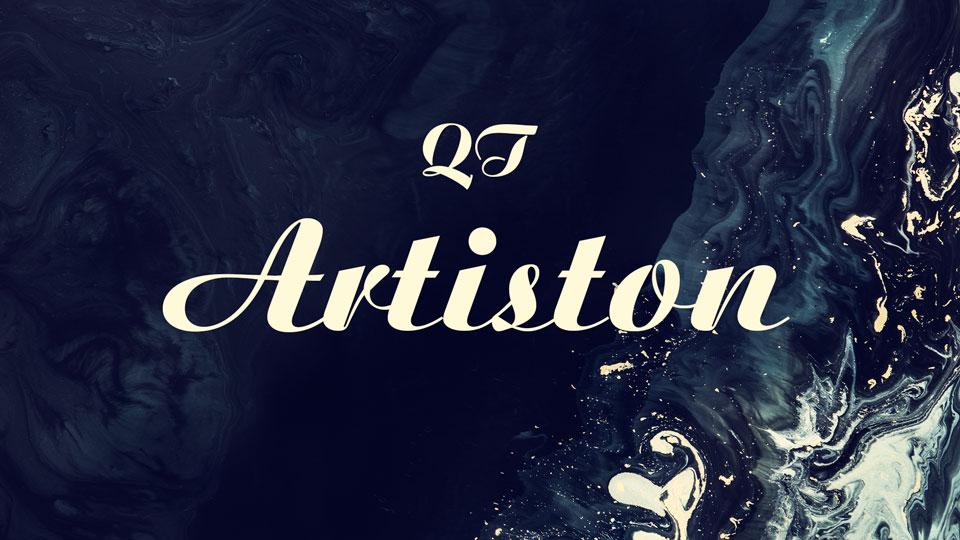 artiston font