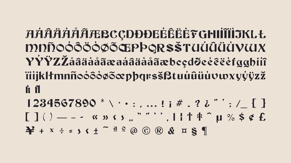 beckman typeface