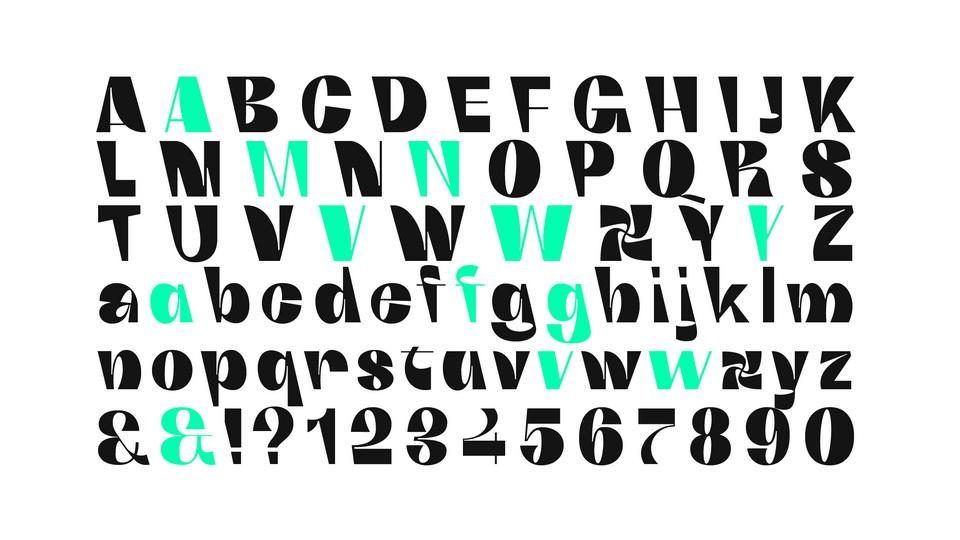 boring sans typeface