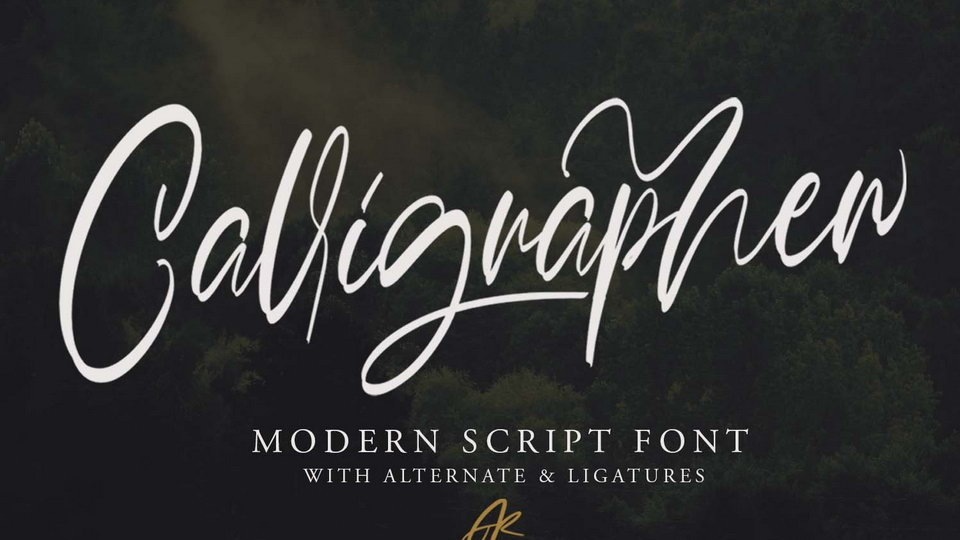 calligrapher script