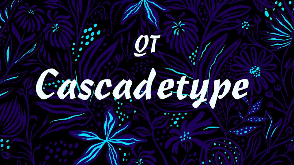 cascadetype typeface