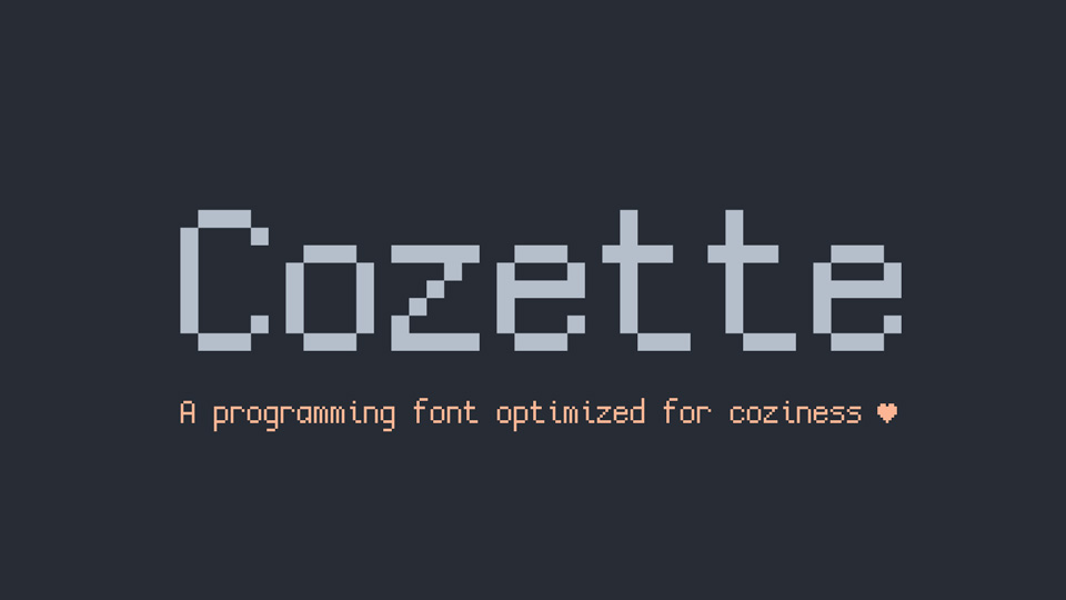 cozette font