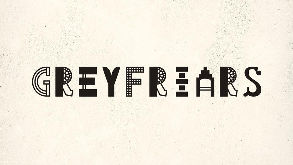 greyfriars font