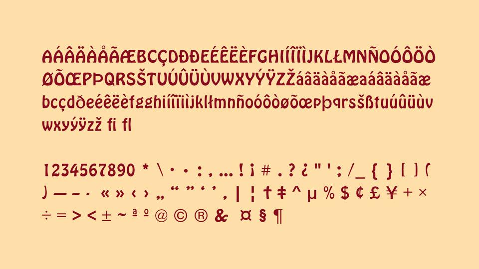 hoboken typeface