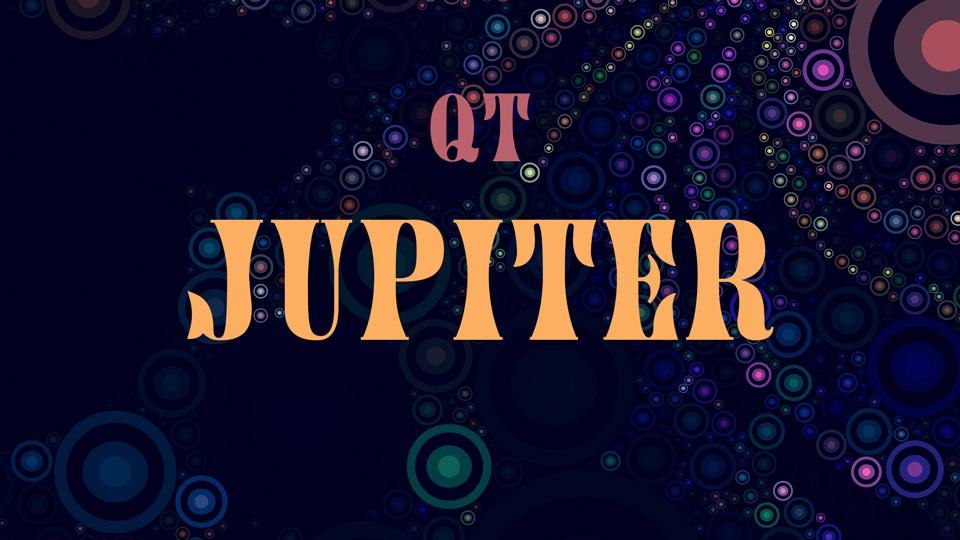jupiter typeface