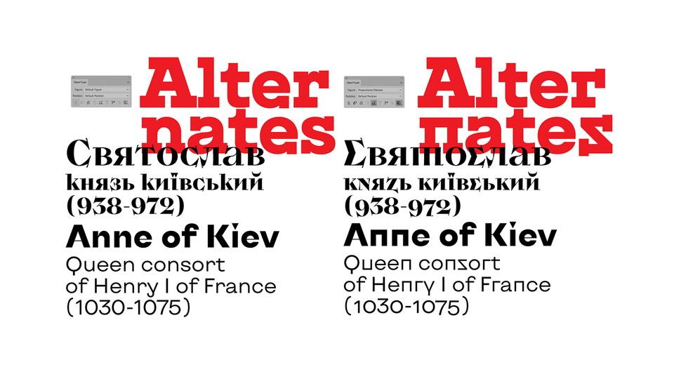 kyiv type font
