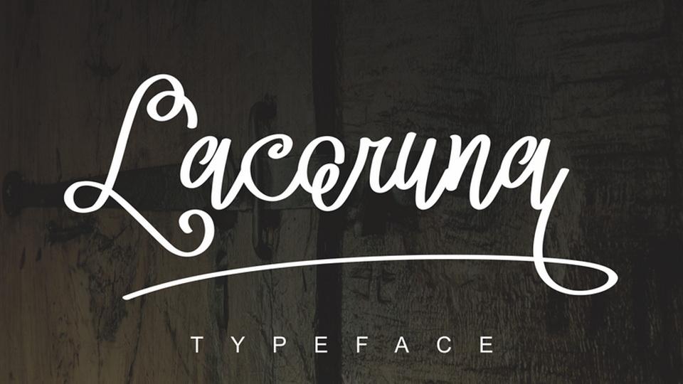 lacoruna font