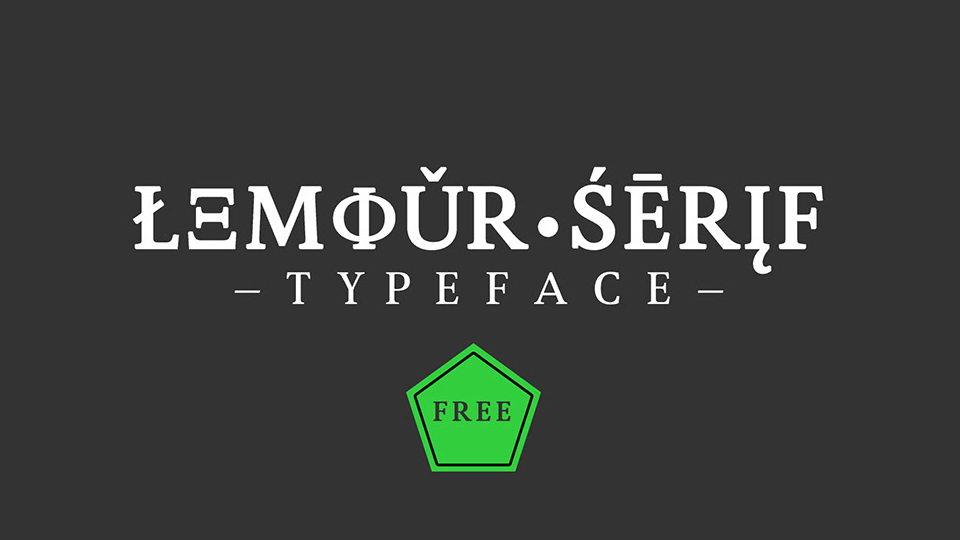 lemou serif font