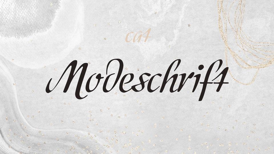 modeschrift