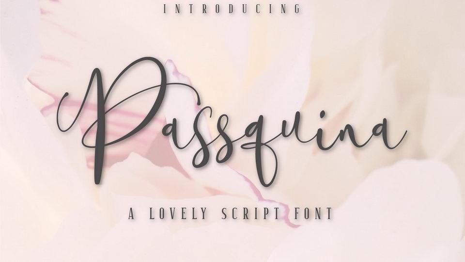 passquina font