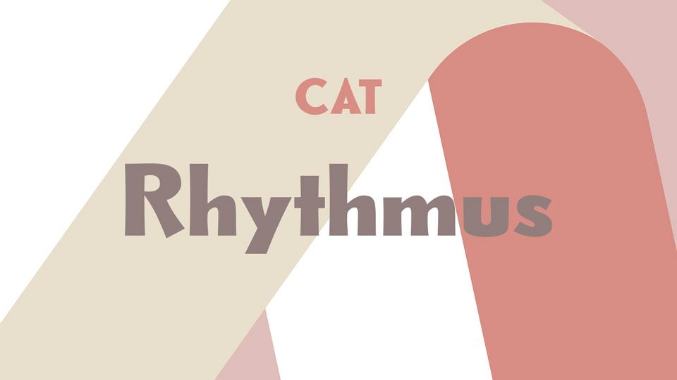rhytmus font
