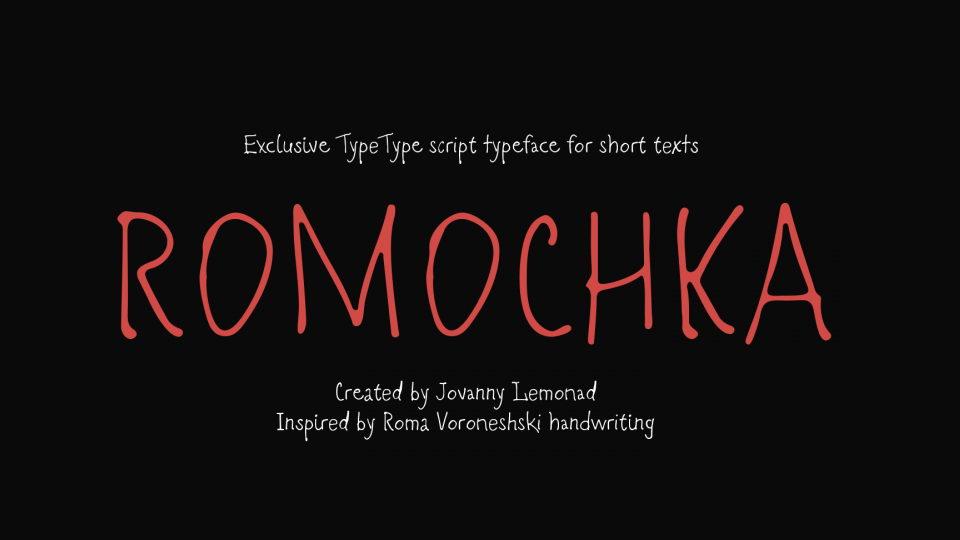 romochka font