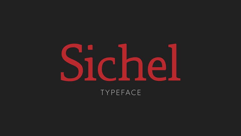 sichel typeface