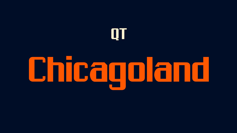 chicagoland font