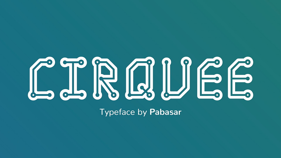 cirquee font