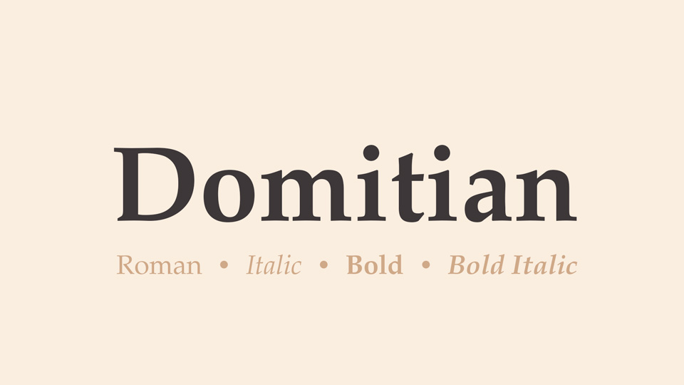 domitian font
