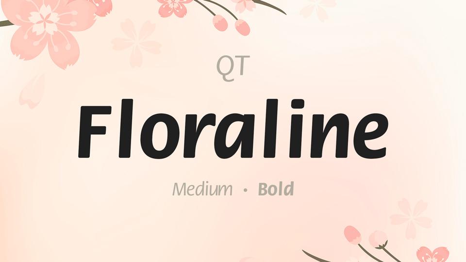 floraline font